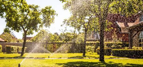 Twente slurpt na waarschuwing minder water, maar het is nog altijd te veel