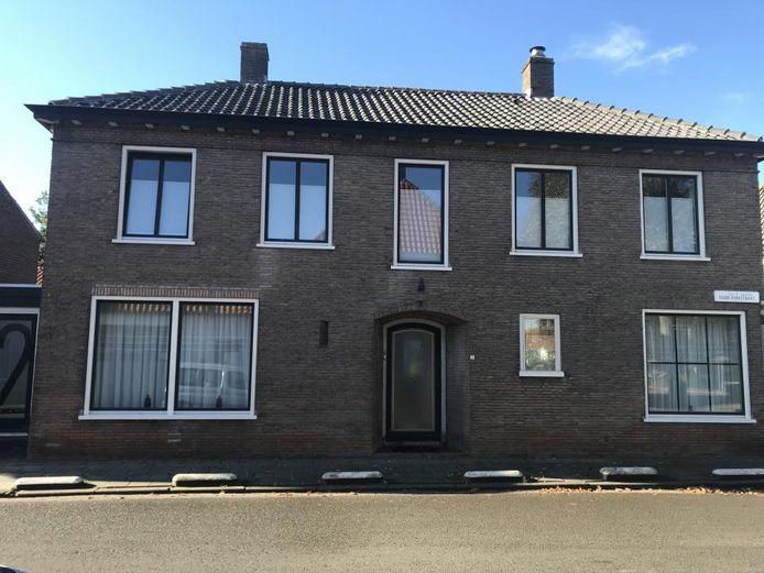 De winnende woning in Aardenburg.
