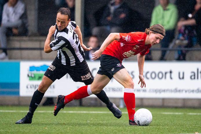VV Gemert, in actie tegen Helmond Sport