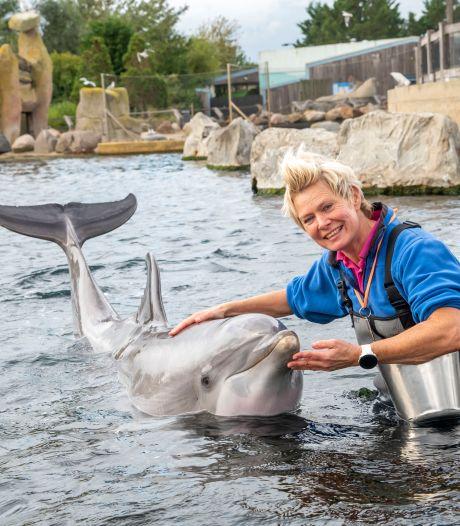 Bernadet na 25 jaar weg bij Dolfinarium: 'Grootste compliment als mensen zien dat band met dolfijn puur is'