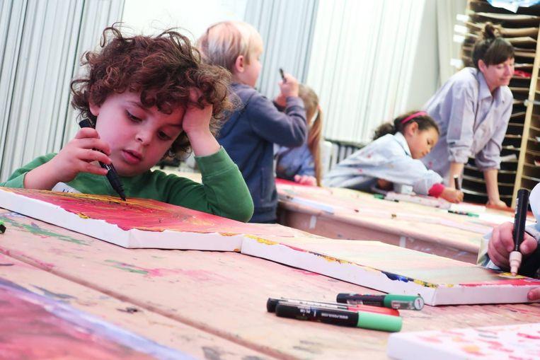 Er zijn heel wat activiteiten voor kinderen tijdens Springtij