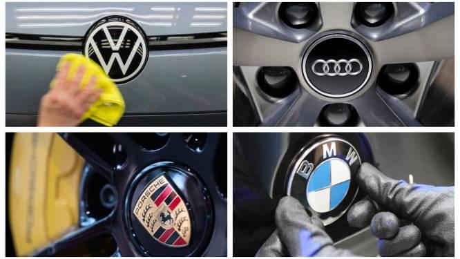 Europese Commissie beboet Duitse automakers met 875 miljoen euro wegens kartelvorming