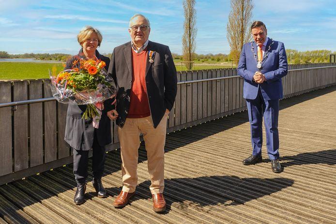 Wim Oude Weernink werd benoemd tot Officier in de Orde van Oranje-Nassau