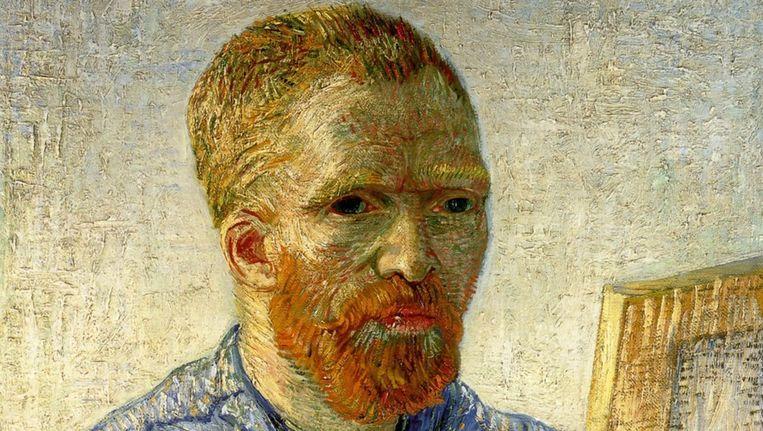 Zelfportret van Vincent van Gogh. Beeld EPA