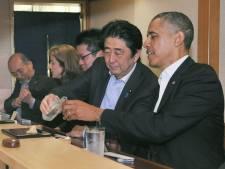 Obama n'a mangé que la moitié de ses sushis 3 étoiles