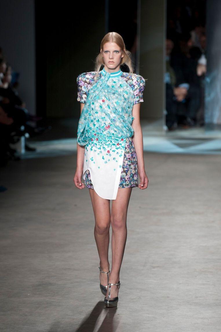 De jurk van Claes Iversen. Beeld Geert Snoeijer