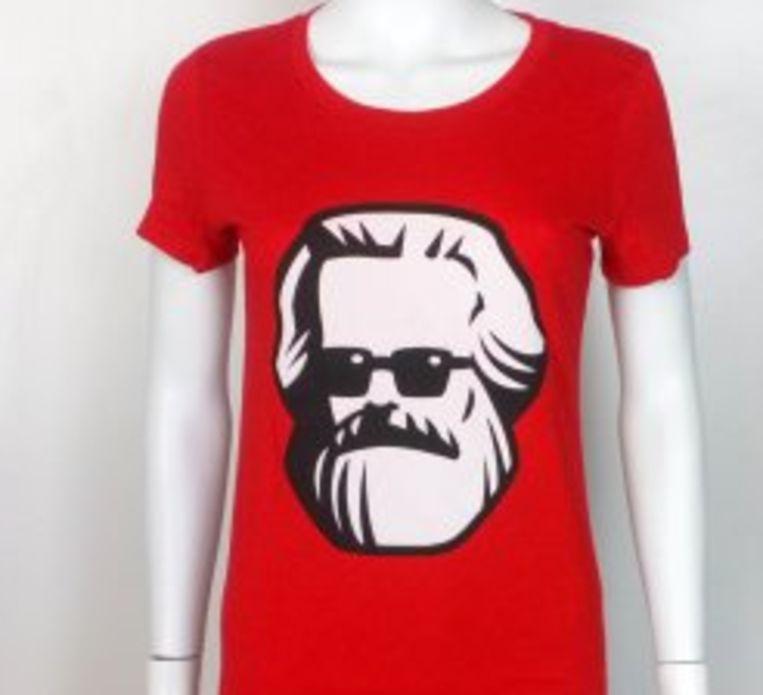 T-shirt in SP-webshop. Beeld