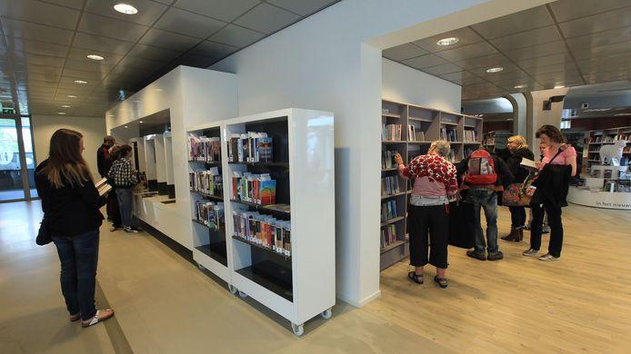 De bibliotheek in Veenendaal.
