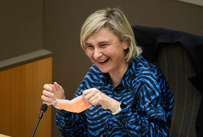 Hilde Crevits (CD&V), ministre flamande de l'Emploi