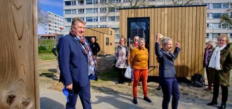 Eerste Tiny Houses in Crabbehof officieel geopend