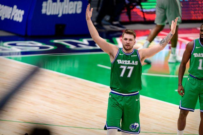 Luka Doncic was opnieuw beslissend voor Dallas Mavericks tegen LA Clippers.