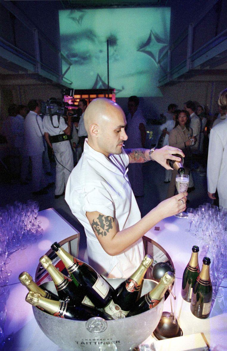 Champagne in de Supperclub. Beeld Jean-Pierre Jans