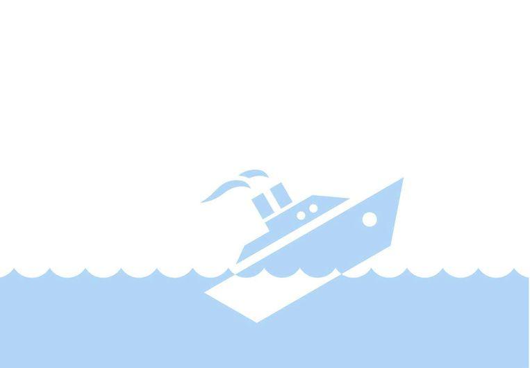 Het boek Het nut van de man opent met de gezonken Costa Concordia. Beeld shutterstock