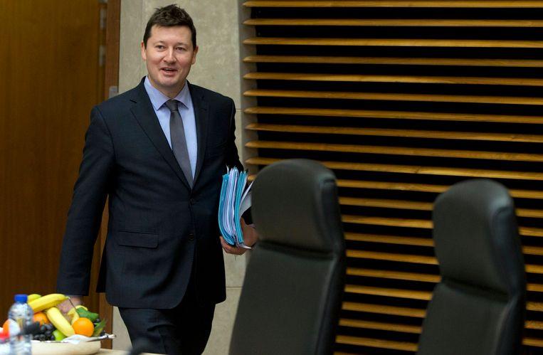 Martin Selmayr schopte het opvallend snel tot secretaris-generaal van de Europese Commissie.  Beeld AP
