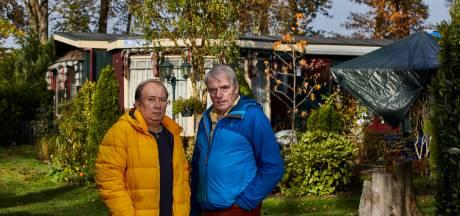 Raymond en Johan zien hun stacaravan op camping De Vlinderhoeve verdwijnen: 'Ons geluk is kapotgemaakt'