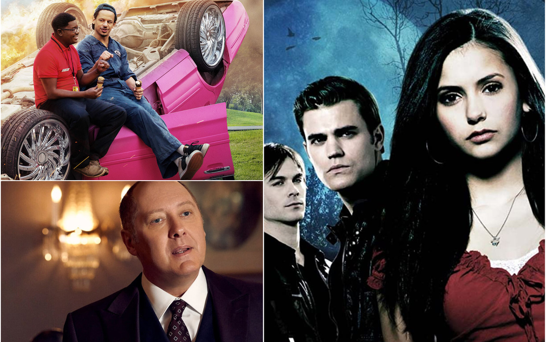 'Bad Trip', 'The Blacklist' en 'Vampire Diaries' Beeld Netflix