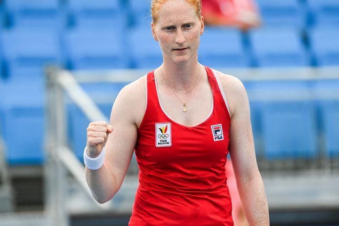 Alison Van Uytvanck file en quart de finale au Kazakhstan.