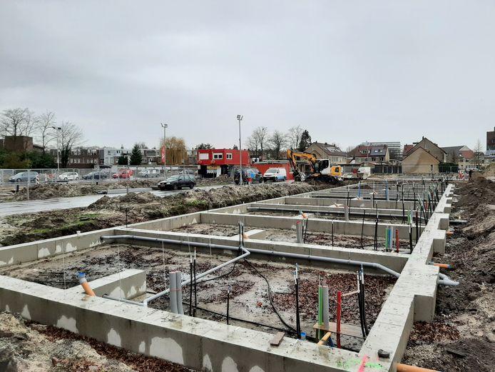 Woningbouw in de Heuvel in Breda.
