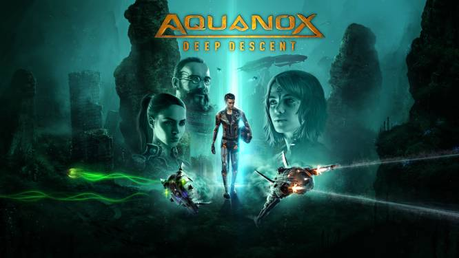 GAMEREVIEW AquaNox Deep Descent: knallen in de dystopische diepzee