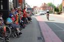 Ook de inwoners van WZC Maria Rustoord supporterden voor Lampi.