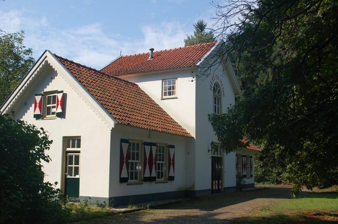 Het voormalig jachthuis op landgoed Huis Ter Heide