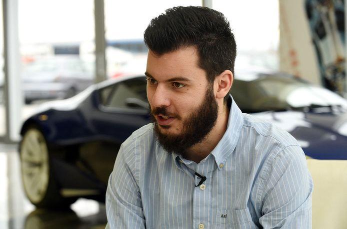 De Kroatische innovator Mate Rimac.