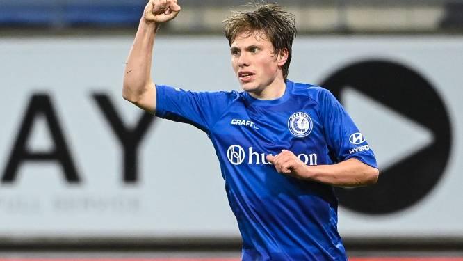 """Matisse Samoise scoorde zijn tweede voor AA Gent: """"Of mijn leven veranderd is? Dat valt nog mee"""""""