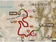 Uitslagen Dakar Rally, etappe 8
