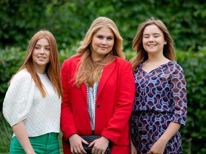 De ene is een rebelse tiener, de andere een schuchtere scholier: dit zijn Alexia en Ariane, de zussen van kroonprinses Amalia