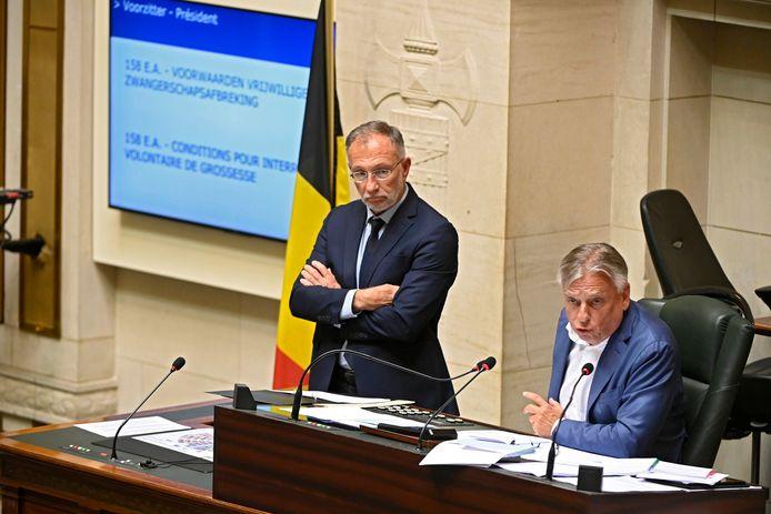 Kamervoorzitter Patrick Dewael (Open Vld).
