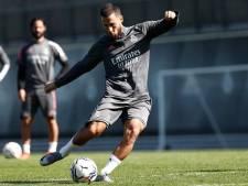"""Hazard de retour à l'entraînement, Zidane optimiste: """"J'espère qu'on pourra le revoir très bientôt"""""""