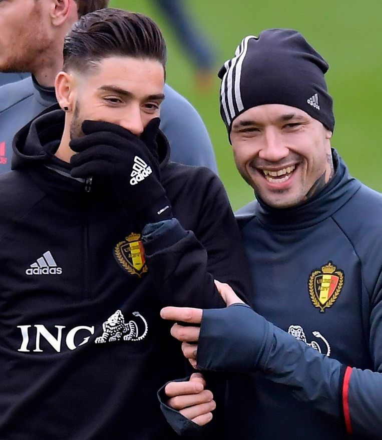 Carrasco en Nainggolan dollen.