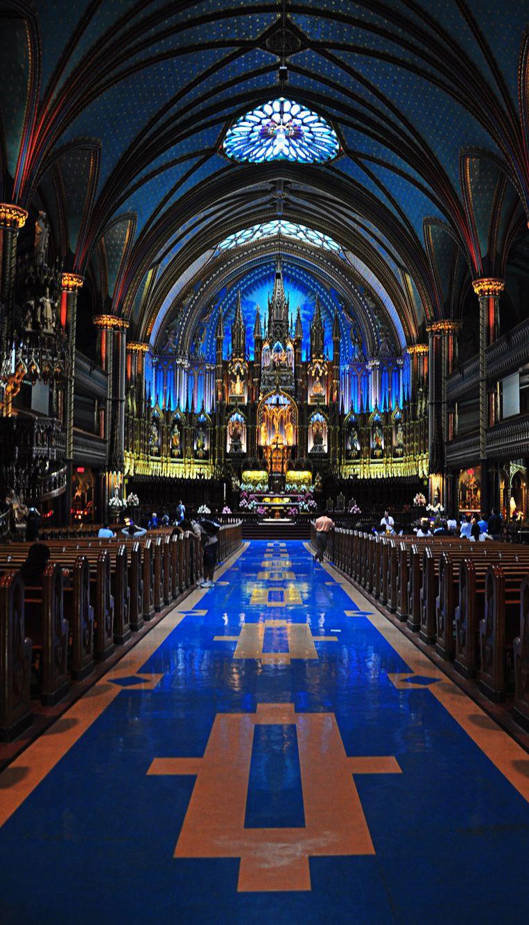De Notre-Dame-basiliek in Montreal. Beeld Colourbox