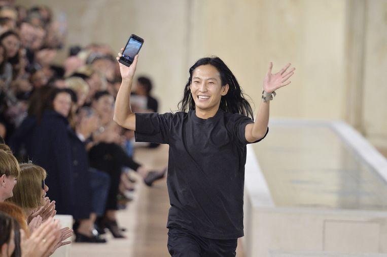 Alexander Wang kan zich weer helemaal op zijn eigen label in New York storten. Beeld getty