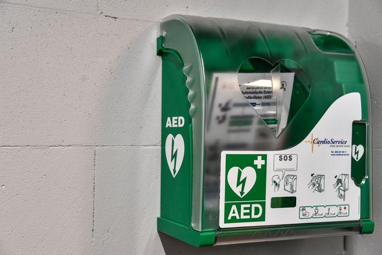 De hartstarter of AED.