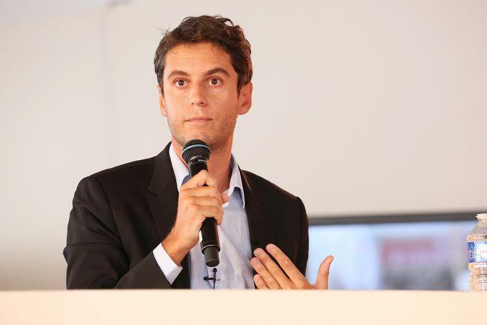 Le porte-parole du gouvernement Gabriel Attal
