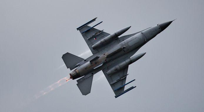 Een Nederlandse F16 in actie tijdens de Luchtmachtdagen. Foto ter illustratie.