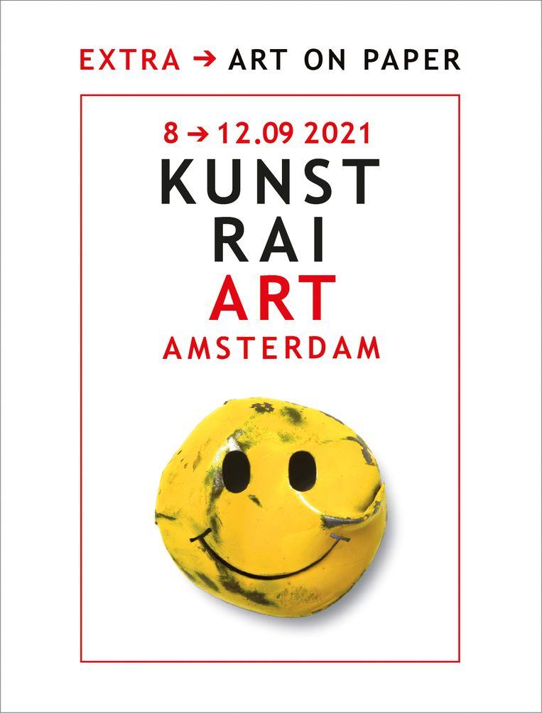 Affiche KunstRAI 2021 door Mart. Warmerdam. Beeld -