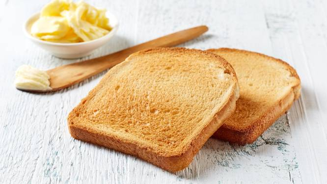 Is een geroosterde boterham ongezonder dan een normale boterham?
