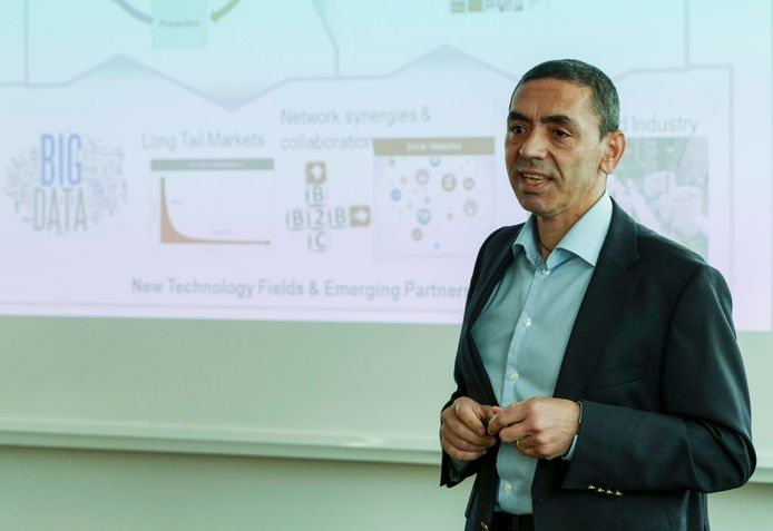 Ugur Sahin, CEO van BioNTech