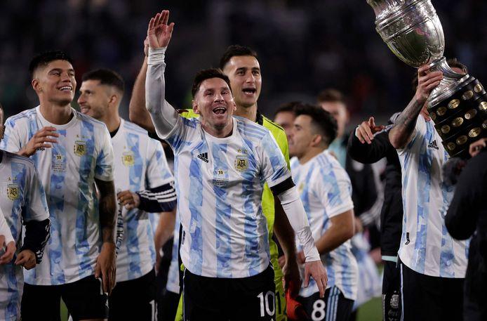 Lionel Messi en co met Copa América.