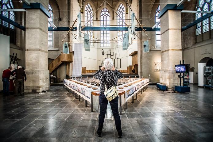 Museum Arnhem in de Walburgiskerk in Arnhem.