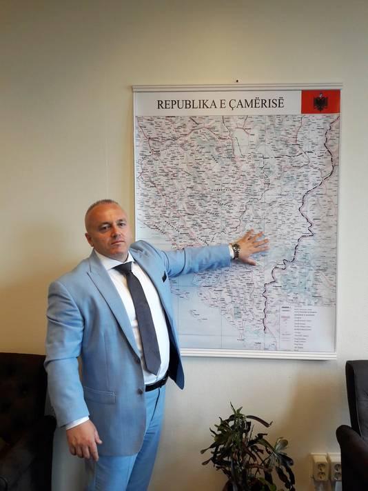 11-08-2017 Portret van Festim Lato president van Chameria