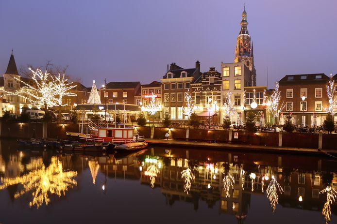 Breda in kerstsferen. (Archieffoto)