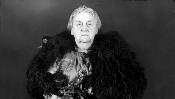 La reine Wilhelmina des Pays-Bas.