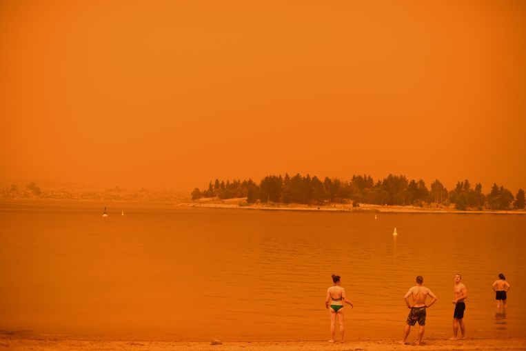 In de eerste week van januari 2020 kleurde de lucht oranje op veel plaatsen in de Australische staat New South Wales.