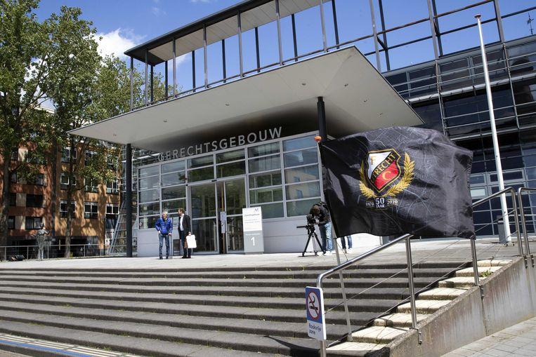 FC Utrecht verliest, in ieder geval in de rechtbank, zondag moet de club aan de bak tegen Feyenoord.  Beeld ANP