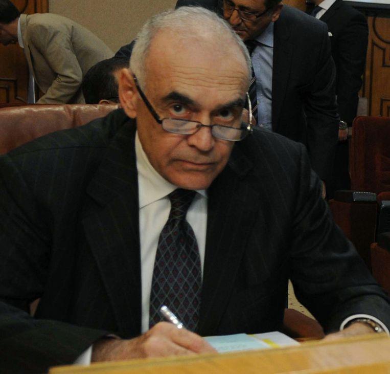 De Egyptische minister van Buitenlandse Zaken, Mohammed Kamel Amr. Beeld afp