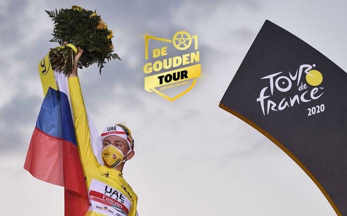 Tadej Pogacar won vorig jaar de Tour.