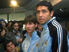 Riquelme nodigt Messi uit: 'Droom om hem in Boca-shirt te zien'
